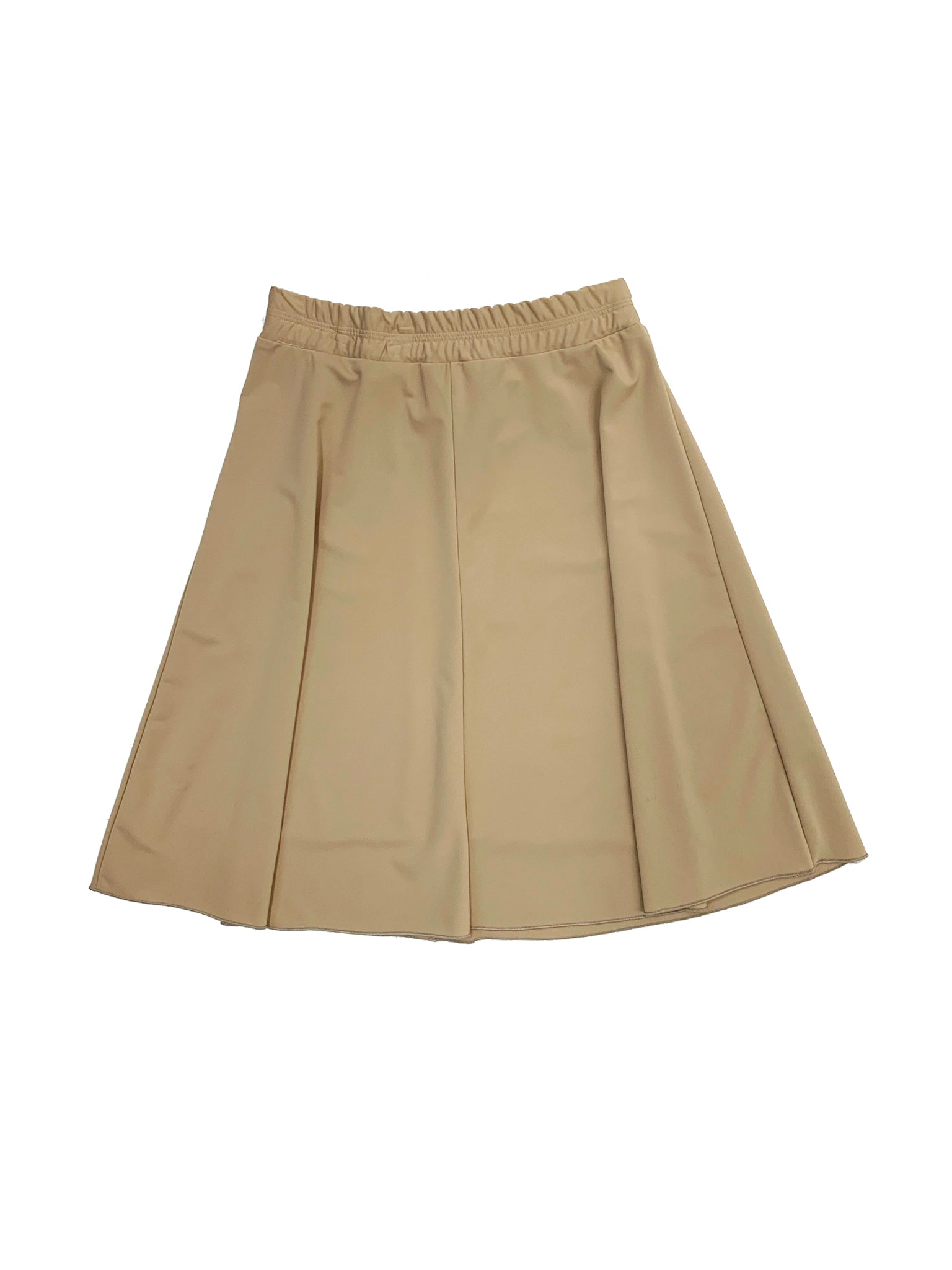 Ladies Tan Flairy Skirt
