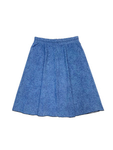 Ladies Denim Flairy Swim Skirt