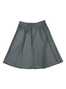 Ladies Gingham Flairy Skirt
