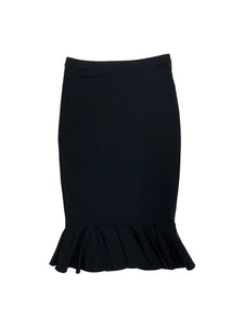 Pencil Swim Skirt With Flair