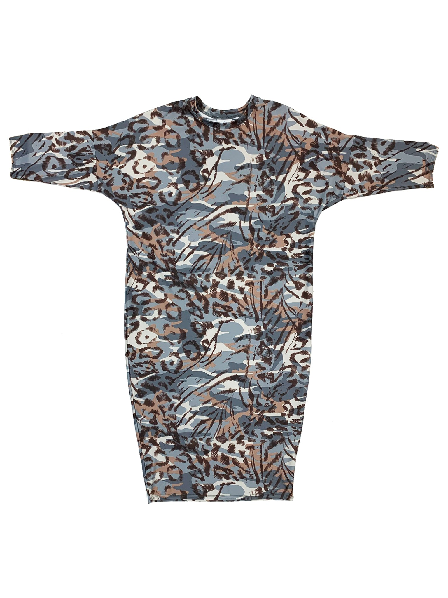 Safari Flow Dress