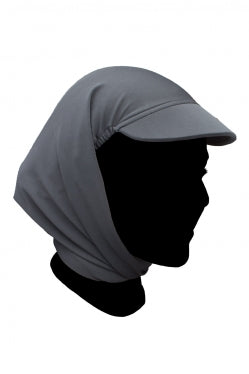 Gray Hijabi Swim Hat