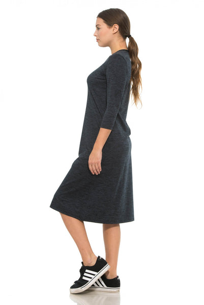 Half Zip Active Dress