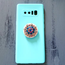 Aqua Diamonds Phone Popper