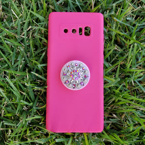 Pink Ice Diamond Phone Popper