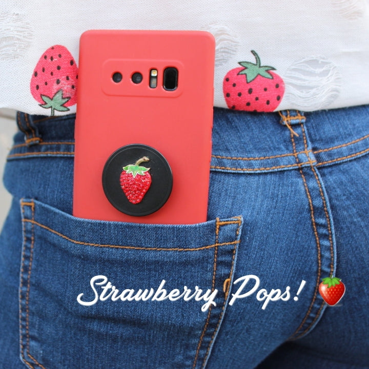 STRAWBERRY POP PHONE POPPER