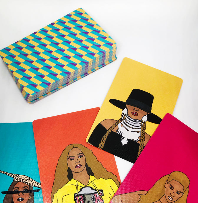 SNAP IS KING, Bey Is Queen | Game Cards
