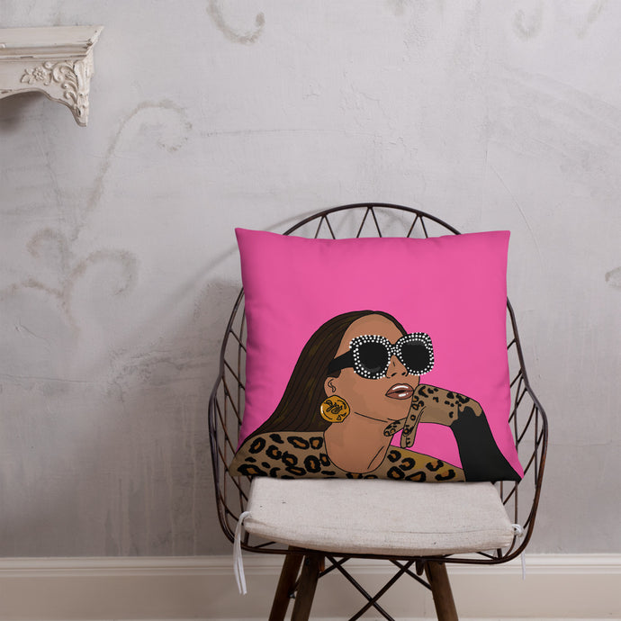 Bey-Lack Is King | Cushion