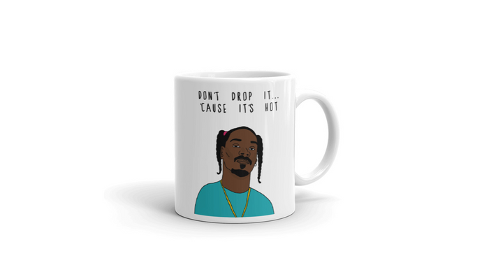 Don't Drop It...'Cause It's Hot | Plain Mug