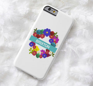 Floral London Underground | iPhone Case