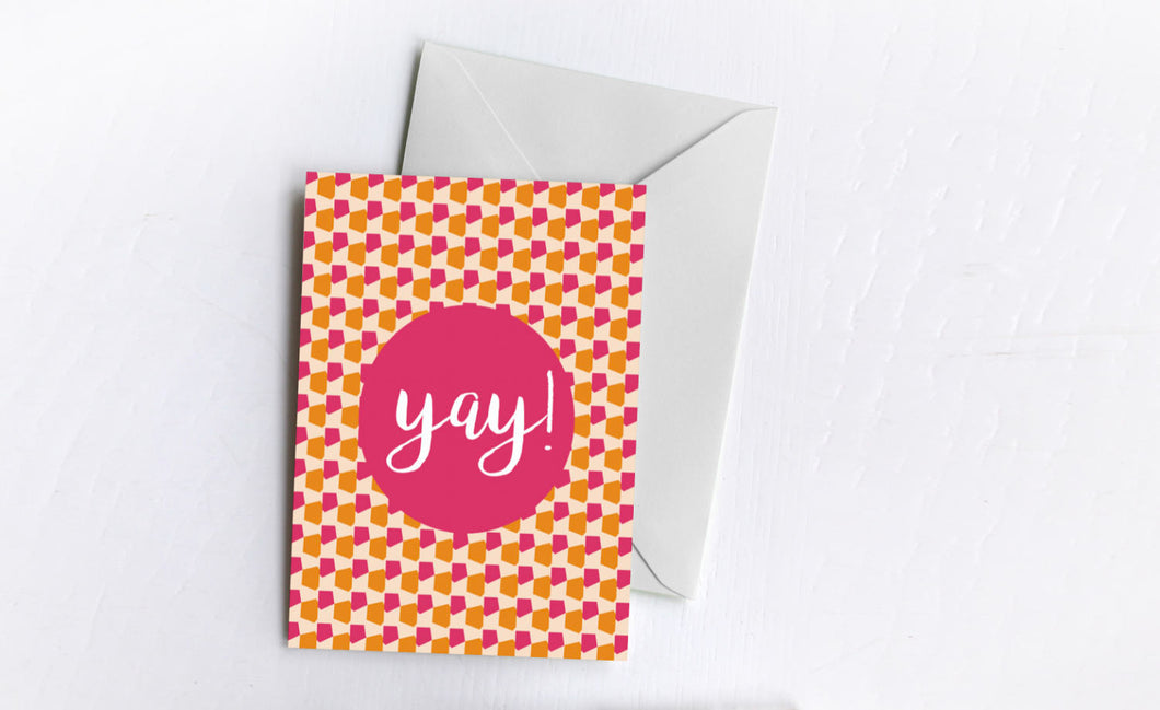 Yay! | Greetings Card