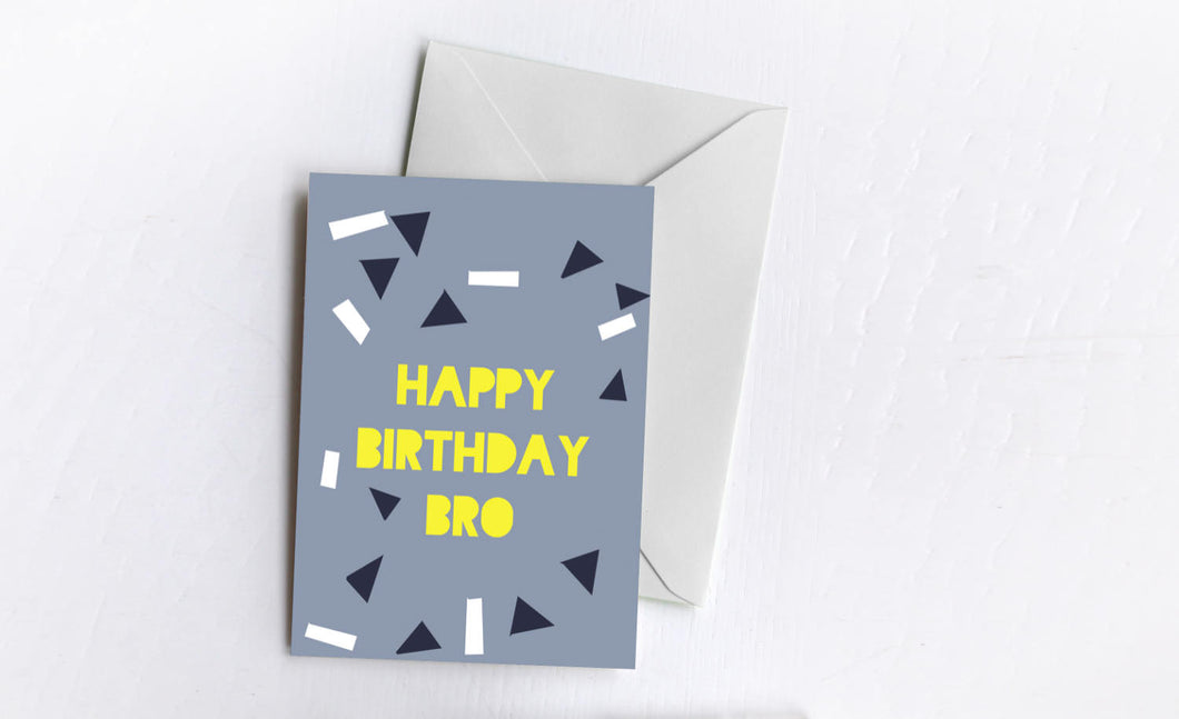 Happy Birthday Bro | Greetings Card