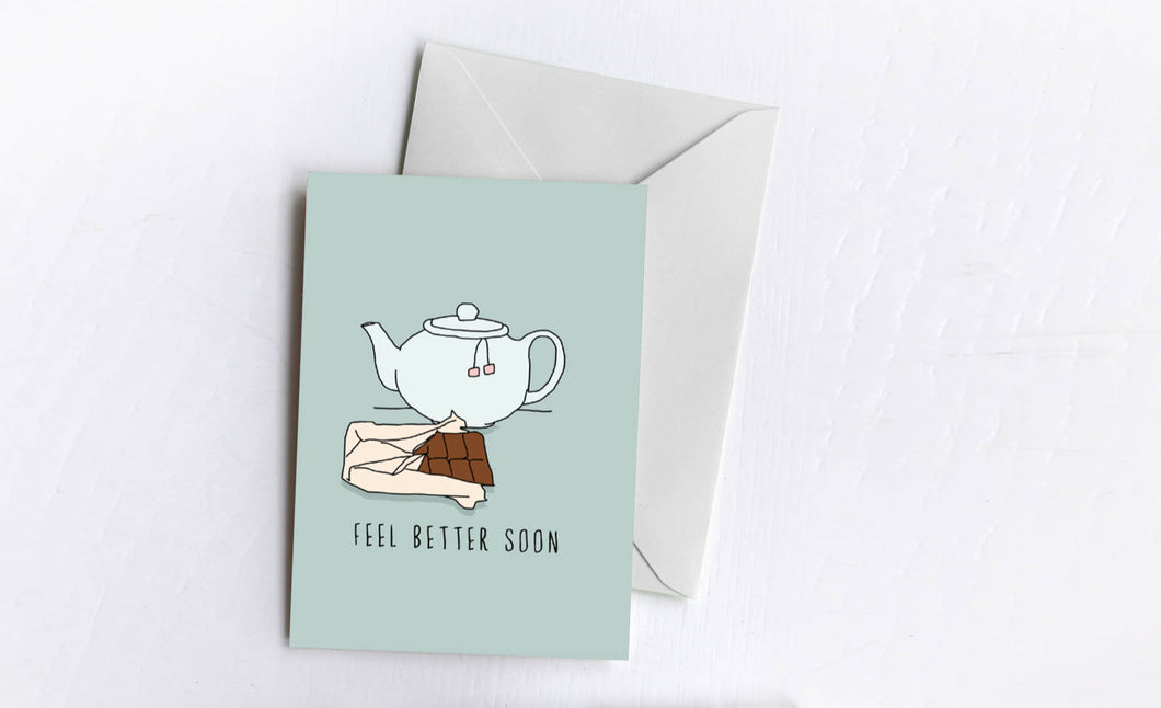 Feel Better Soon | Sympathy Card