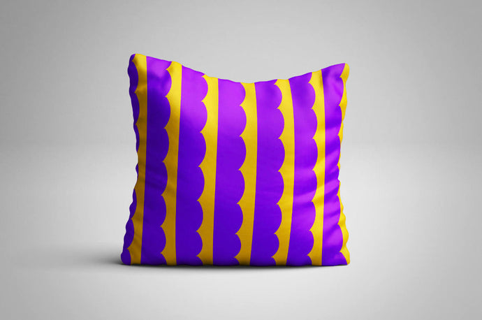 Purple Clouds Print | Cushion