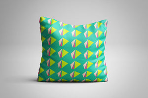 Neon Lunch Print | Cushion