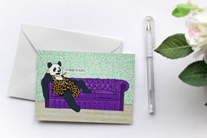 Panda | Greetings Card