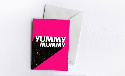 Yummy Mummy | Greetings Card