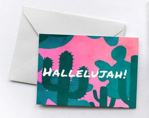 Hallelujah! | Greetings Card