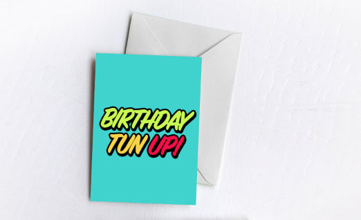 Birthday Tun Up! Card
