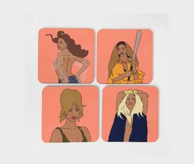 The Beyhive Coaster Set (x4)