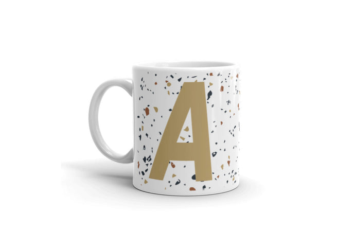 Personalised Alphabet Mug | Tile Print