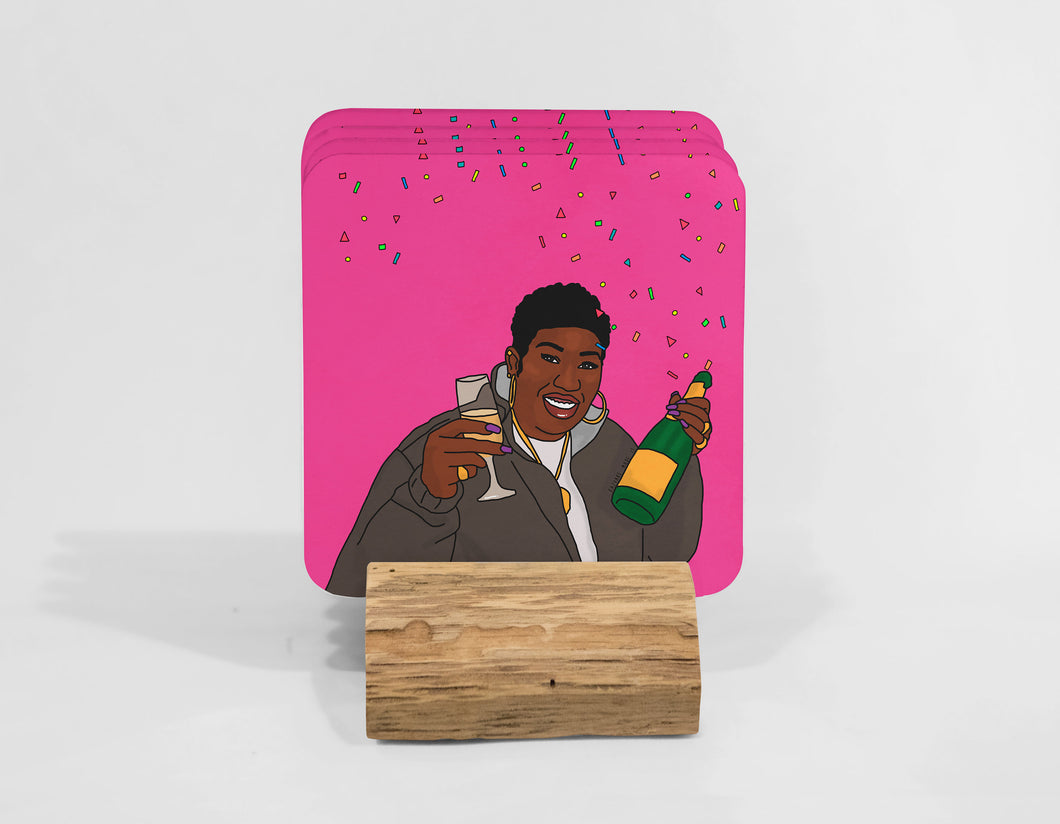 Get Your Drink On (These) |  Coaster Set (x4)