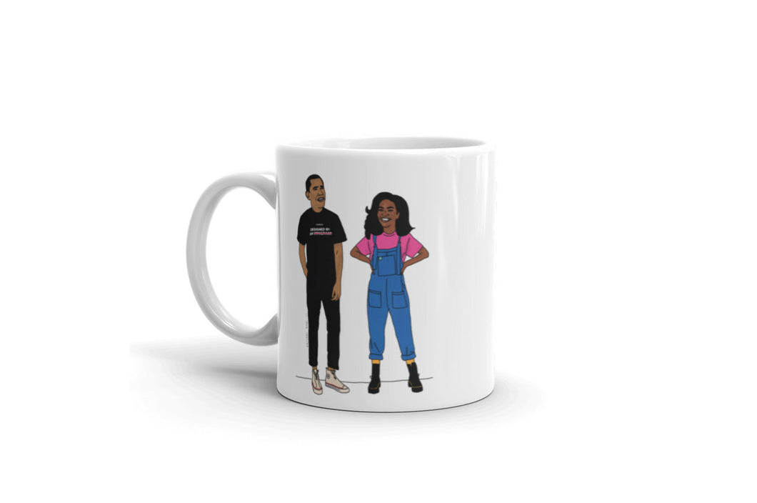 Obamas Reimagined | Mug