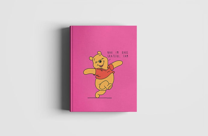 Grateful Winnie | NOTEBOOK