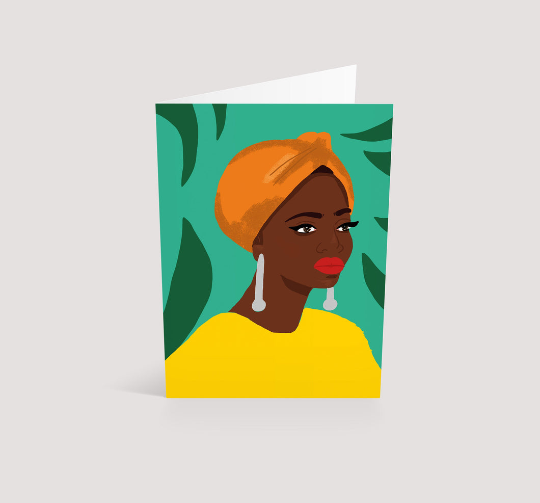 Babes | Blank Greetings Card