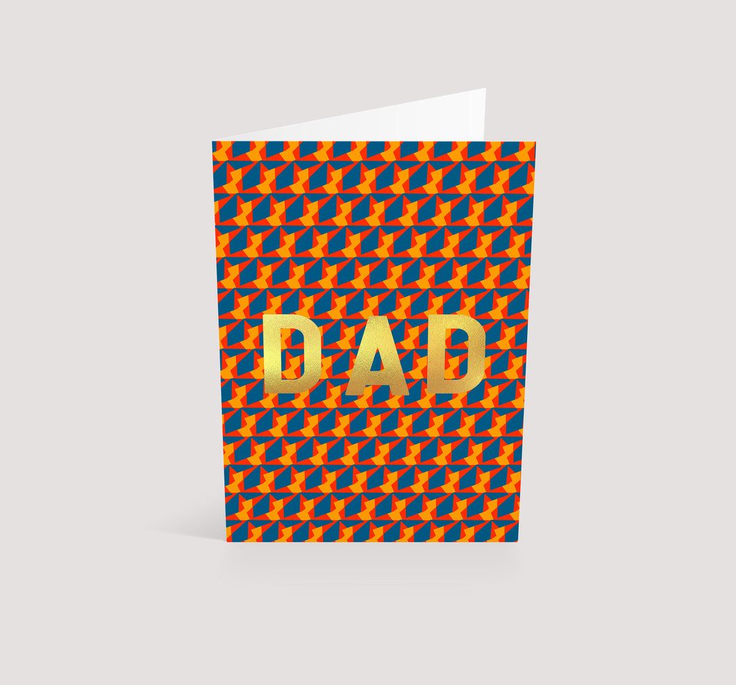 DAD Gold | Greetings Card