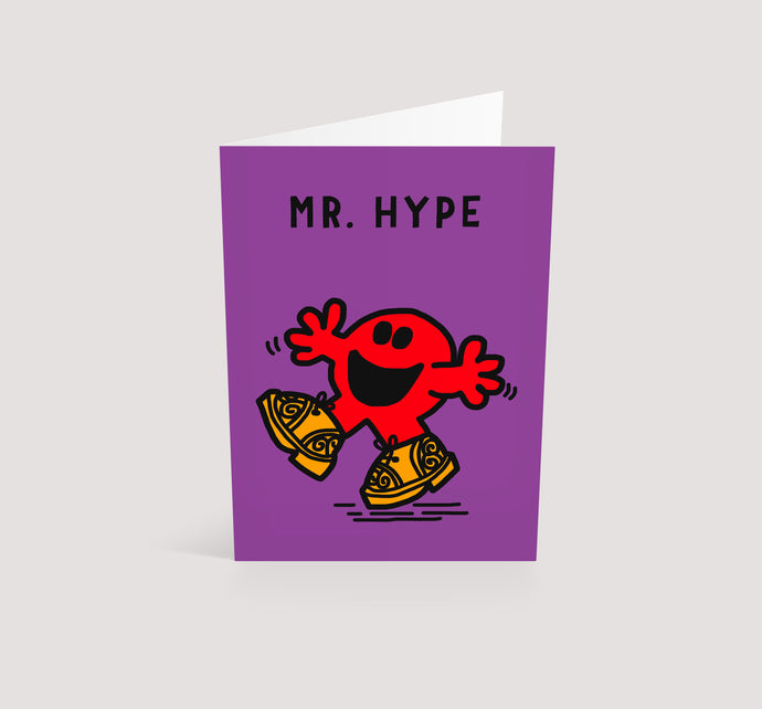 Mr. Hype | Blank Greetings Card