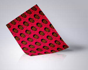 Usher Wrapping Paper