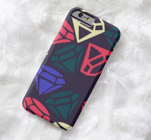 Diamond Print | iPhone Case