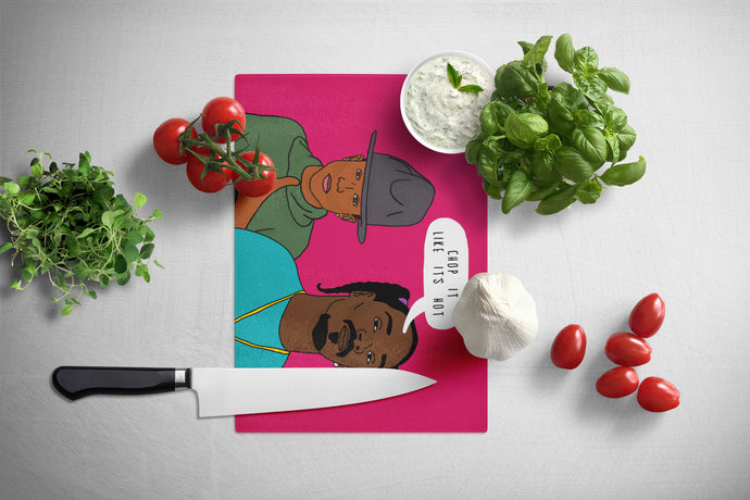 Chop It Like It's Hot | Tempered Glass Chopping Board