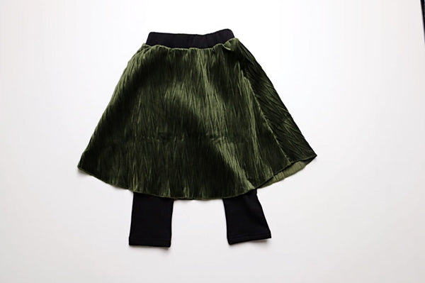 Penelope Skirt and Legging, Green