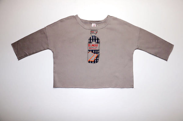 Sandwich Sweatshirt, Grey