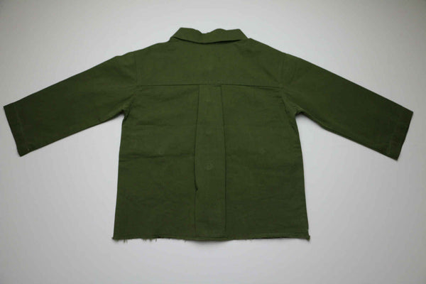 Lightweight summer coat, Green