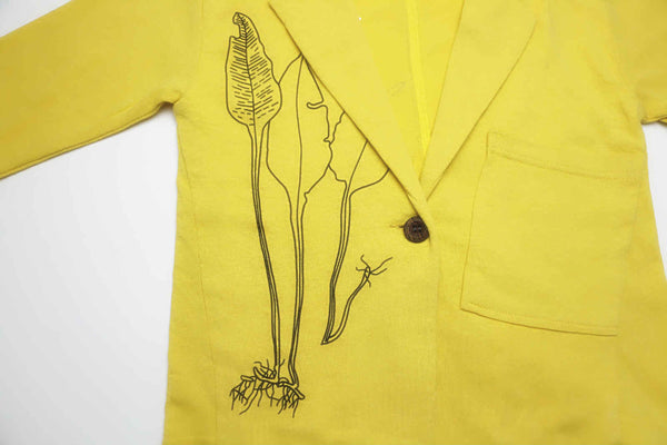 Cassidy Lightweight Jacket, Yellow