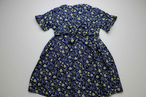 Mia girl dress, Blue