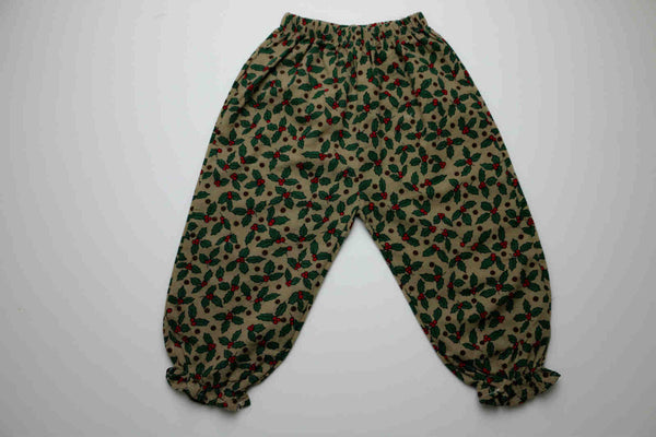 Micah trousers, Green leaf