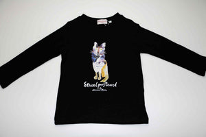 Fox Sweatshirt, Black