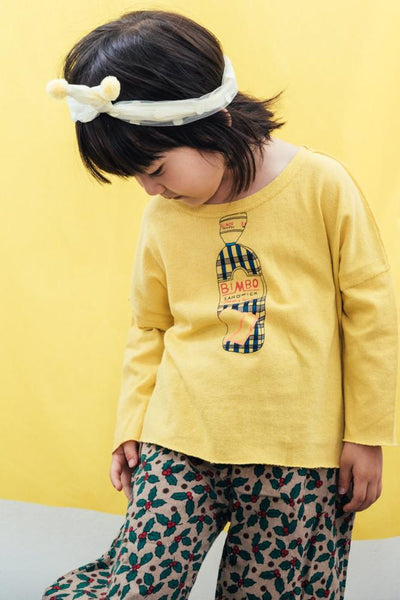 Sandwich Sweatshirt, Yellow