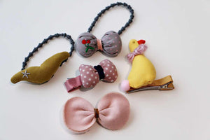 5Pcs Girls Hair Accessories-Olivia