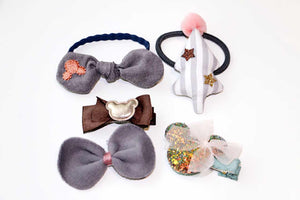 5Pcs Girls Hair Accessories-Emily