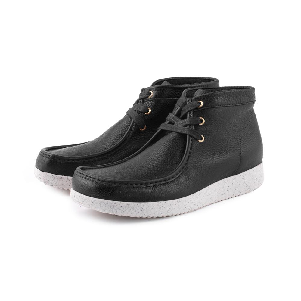 Anton Elk Leather - Black-Nature Footwear-Nature Footwear