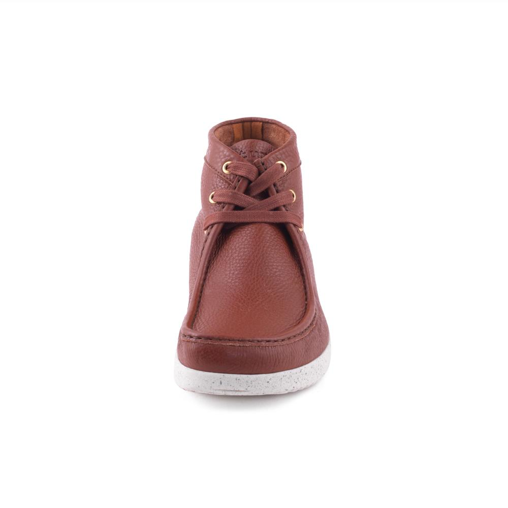 Anton Elk Leather - Dark Brown-Nature Footwear-Nature Footwear