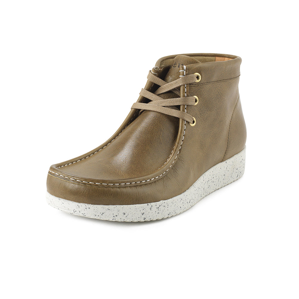 Anton Leather - Olive-Nature Footwear-Nature Footwear