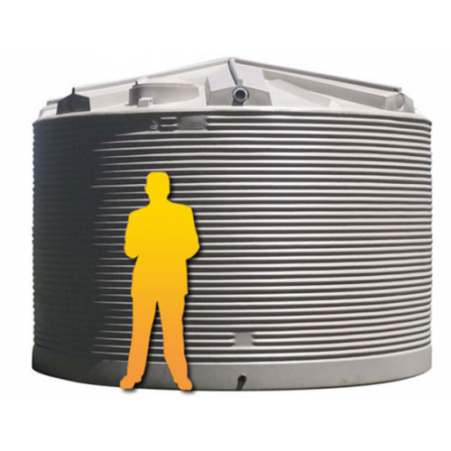 32000LTR Corrugated Poly Domestic Water Tank