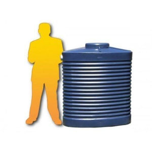 800LTR Slimline Water Tank-Water Tanks - Perth Only-Land and Water Technology