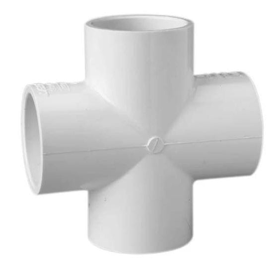 PVC Outlet Cross